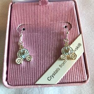 Disney Parks Cinderella's Carriage Earrings